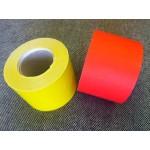 Polccímke 55*38 perforált piros/sárga